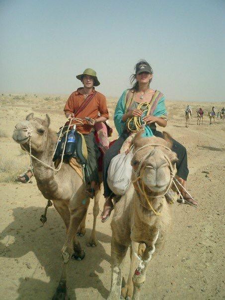 India Rajasthan Camel safari Jaislmeer