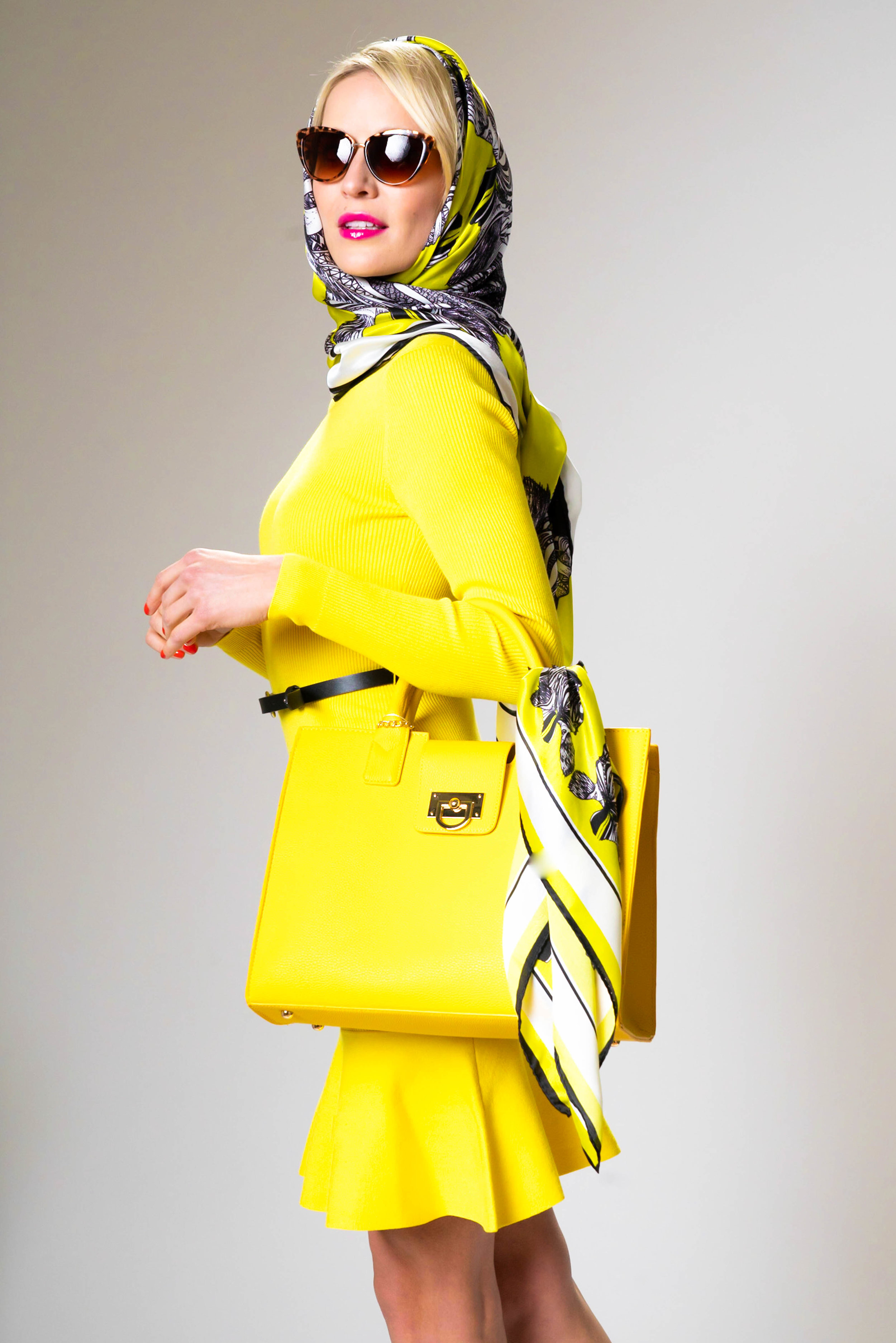 Wear yellow and #behappy - Let the colour wrap you in sunshine