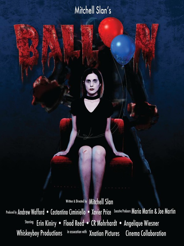 By Mitchell Slan  AWARD WINNER 2017   Penny and her therapist battle her phobia of balloons through psychological experimentation. However, it's not the balloon itself... it's the clown-like serial killer it represents.  https://www.facebook.com/balloonhorror/ https://twitter.com/BalloonHorror