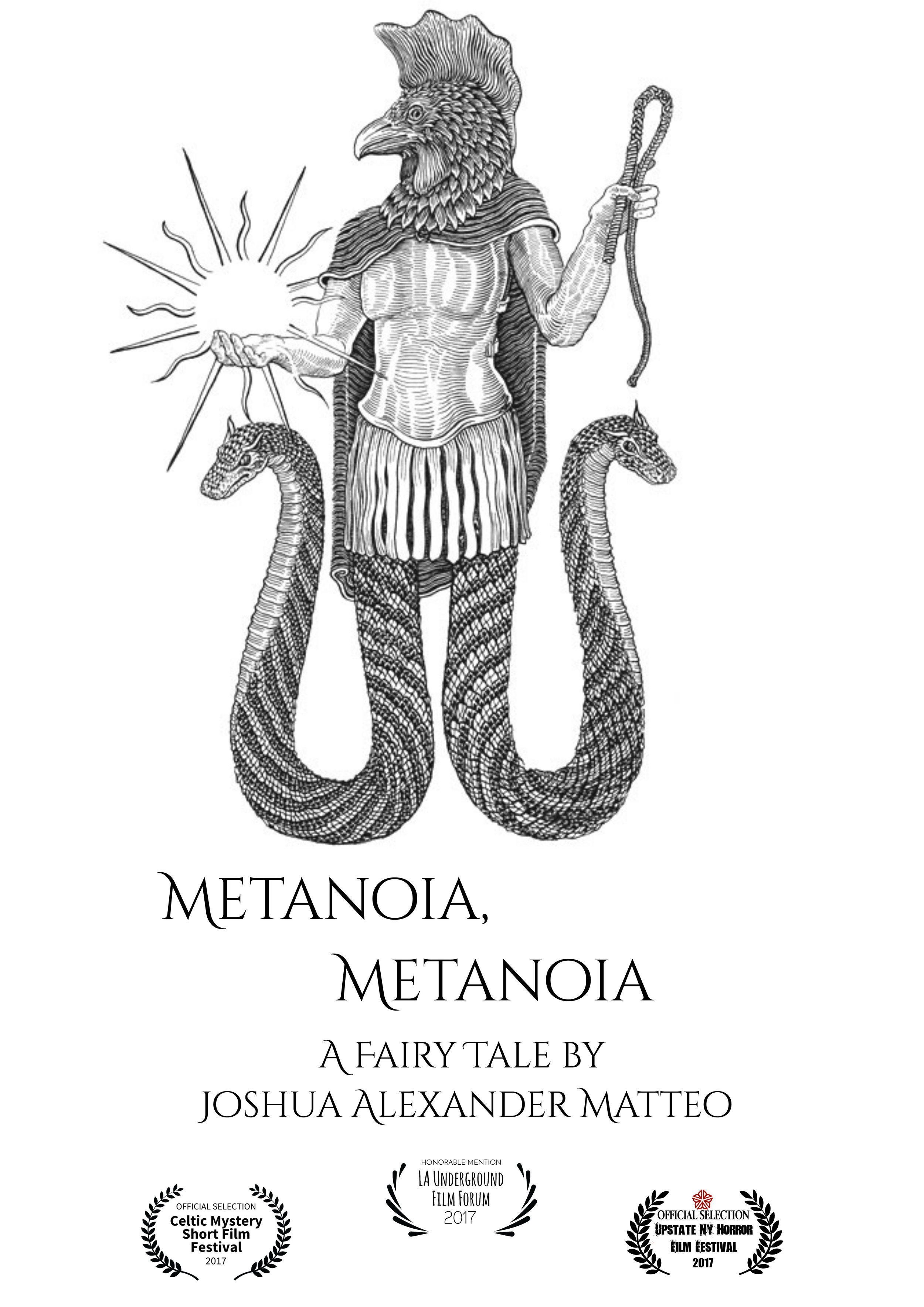 By Joshua Alexander Matteo  A young woman experiences strange, mysterious phenomena in New York City after discovering three chests in the woods. An ode to classic Italian fantastique horror.  http://instagram.com/metanoiametanoia