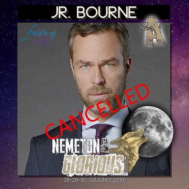 📍😔 #NemetonItaConGlorious Pitiably we have just been informed that JR Bourne (@jrbourne1111) will not be able to attend the Nemeton due to working commitment as they changed his scheduling. It will be possible to use her extras as credit towards any other extra or to ask for reimbursement at the end of the event. Though saddened by the news we are happy for him as we wish him the best. 💗 • 🇮🇹😔 Siamo appena stati informati dal management di JR che purtroppo non riuscirà a partecipare alla Nemeton a causa delle continuate riprese per il suo nuovo lavoro. Per quanto dispiaciuti siamo felici per la sua carriera. I suoi extra potranno essere cambiati alla Nemeton al valore nominale.  #teenwolf