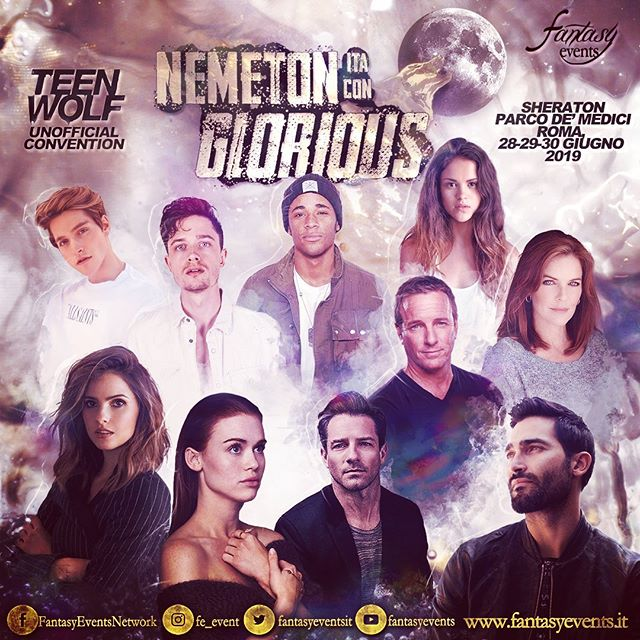 📌🎉 Are you ready?! 🐺 Just a few days till our last #TeenWolf Convention in Rome! 🤩💘 #NemetonItaConGlorious // 28-29-30 June 2019 📌💙 • • @tylerhoechlin @ianbohen @hollandroden @shelleyhennig @linden_ashby @swaltersashby @khylinrhambo @victoriamoroles @froy • • • • • • #meetandgreet #fun #fandom #summer #rome #teenwolfcon #teenwolfcast #tw #nemeton #supergirl #yellowstonetvshow #yellowstone #convention #meetthecast #cast #actor #photo #tylerhoechlin #ianbohen #hollandroden #shelleyhennig #lindenashby #susanwalters#khylinrhambo #victoriamoroles #froy #froygutierrez