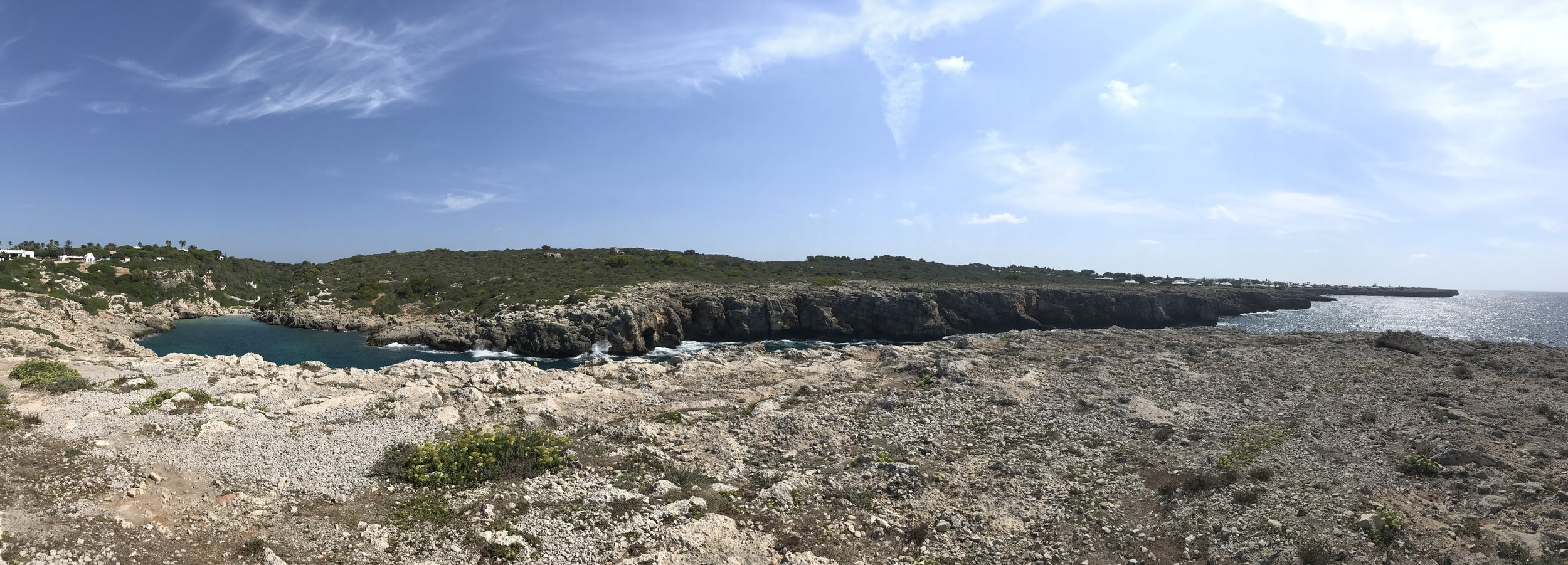 It's really similar to Point Dume in Malibu (CA). It's small, but the view and the sea are spectacular. Many people just pass by to take photos, but I highly suggest to spend few hours to relax in one of the less crowded beach of Menorca.