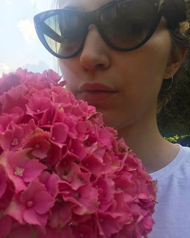 🌸🌸🌸 #hydrangeas #pink