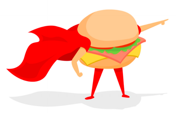 Burger with Cape.png
