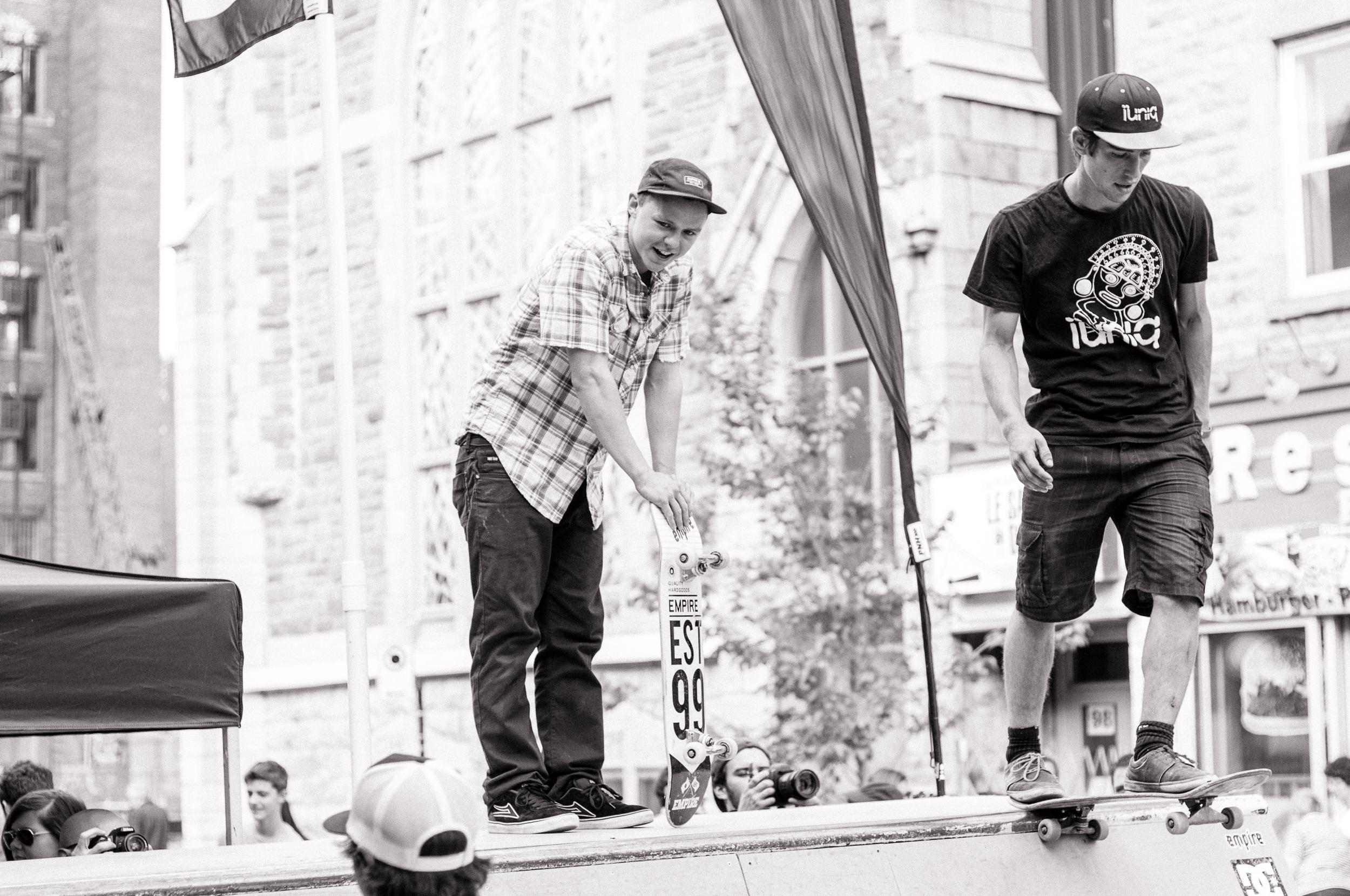 Under Pressure 2014:  Skateboarders