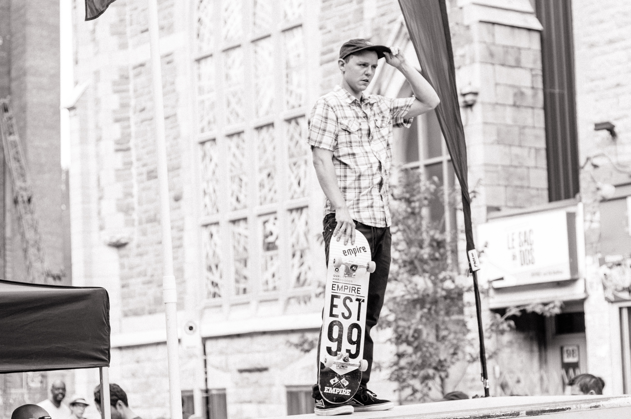 Under Pressure 2014:  Skateboarder