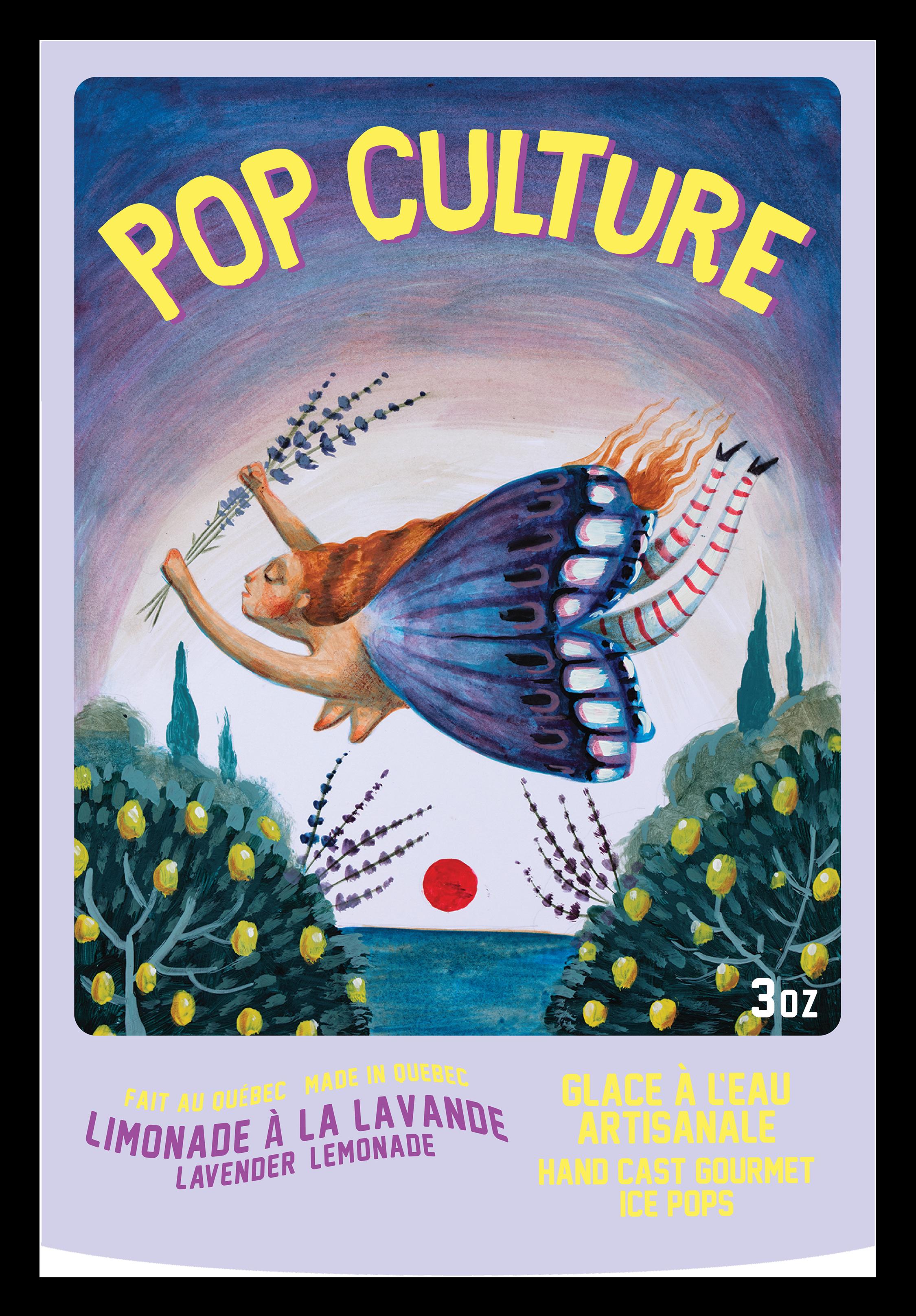 Pop Culture: Popsicle label design