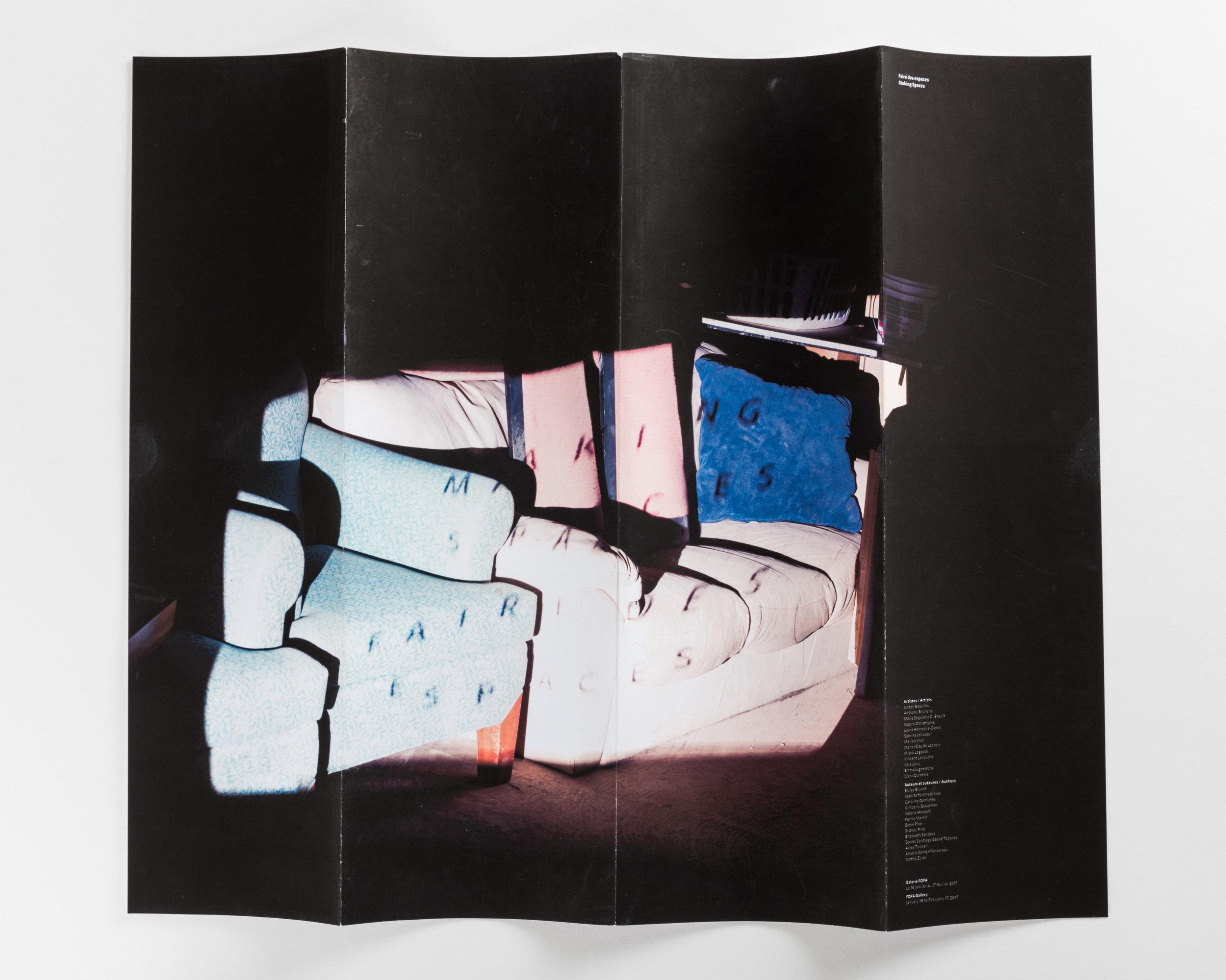 Making Spaces FOFA 2017 Exhibition Catalogue