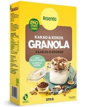 ekologisk granola risenta