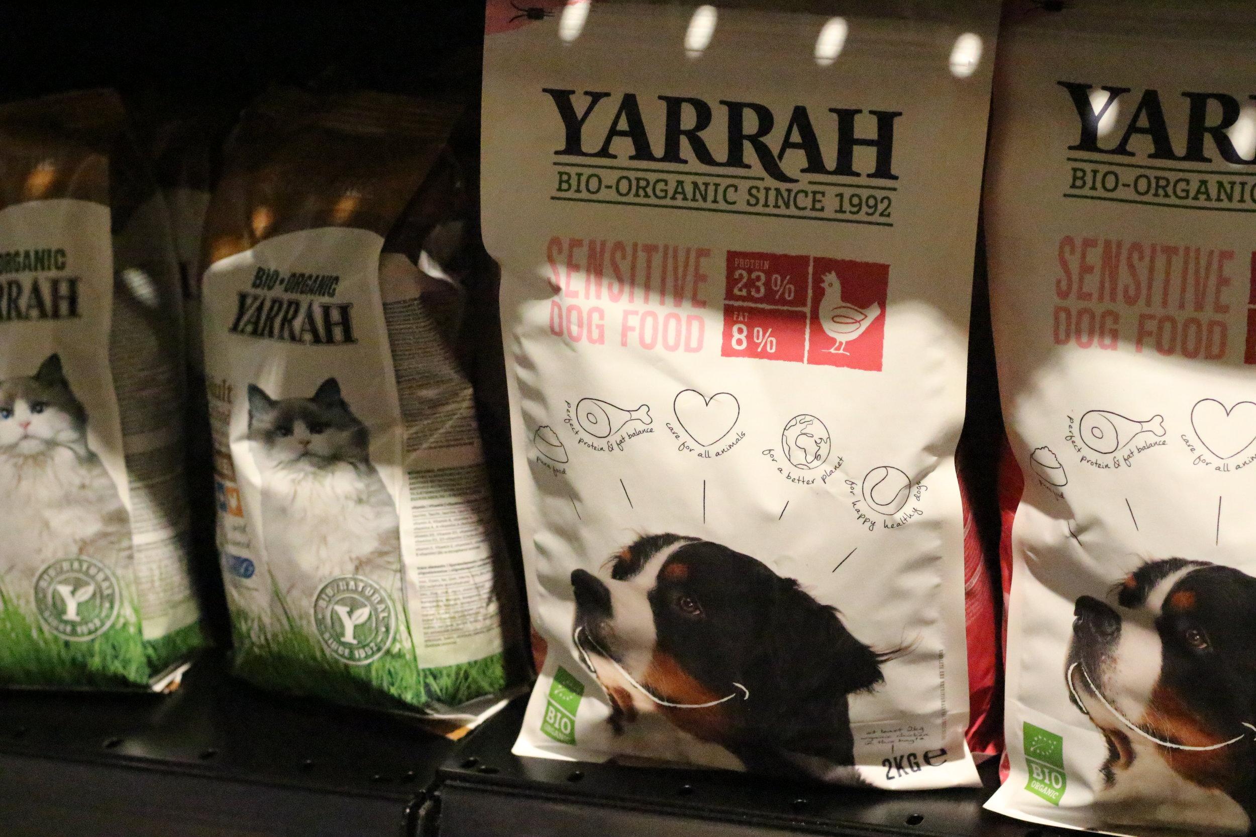 Ekologisk hundmat och kattmat!