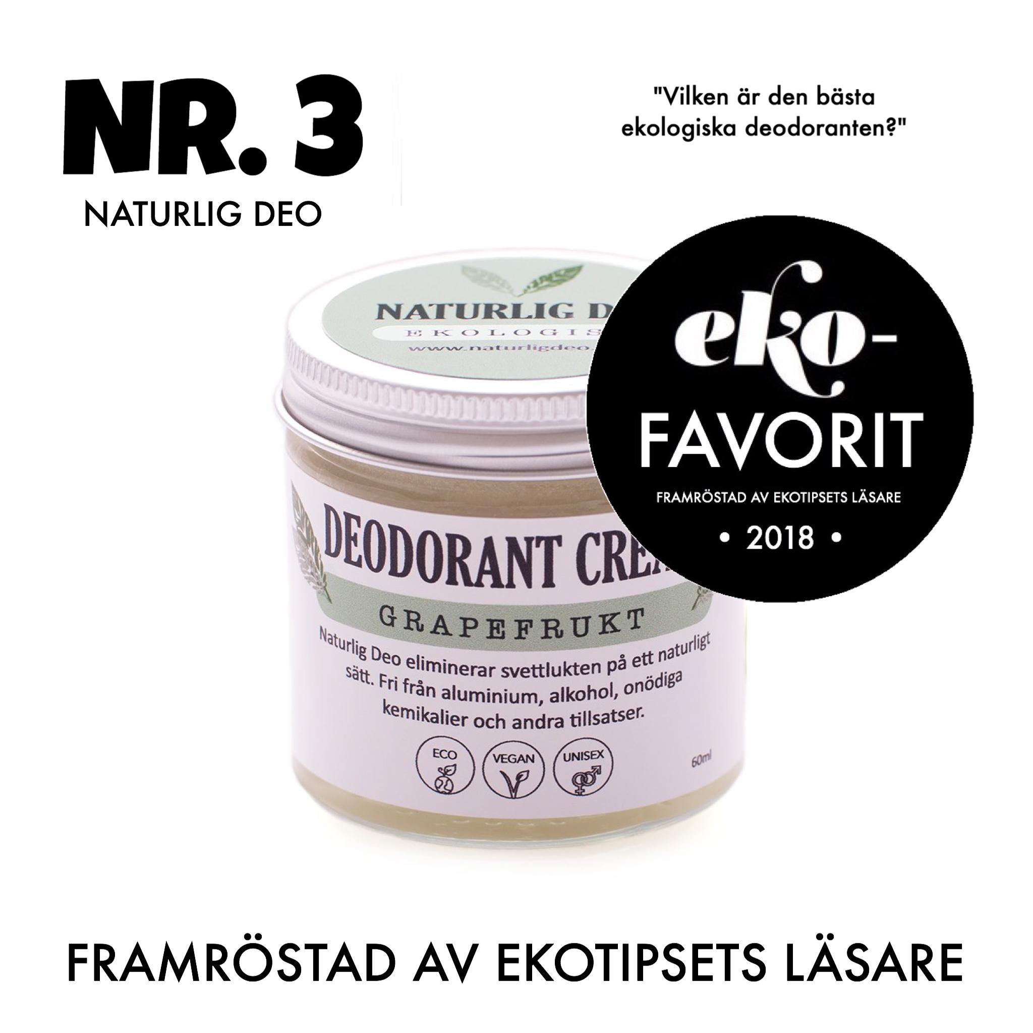 ekologisk deodorant naturlig deo