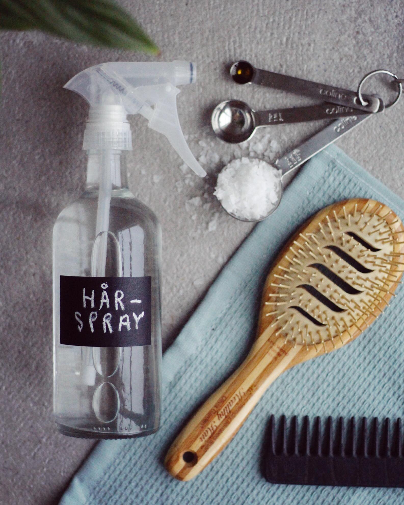 gör din egen hårspray