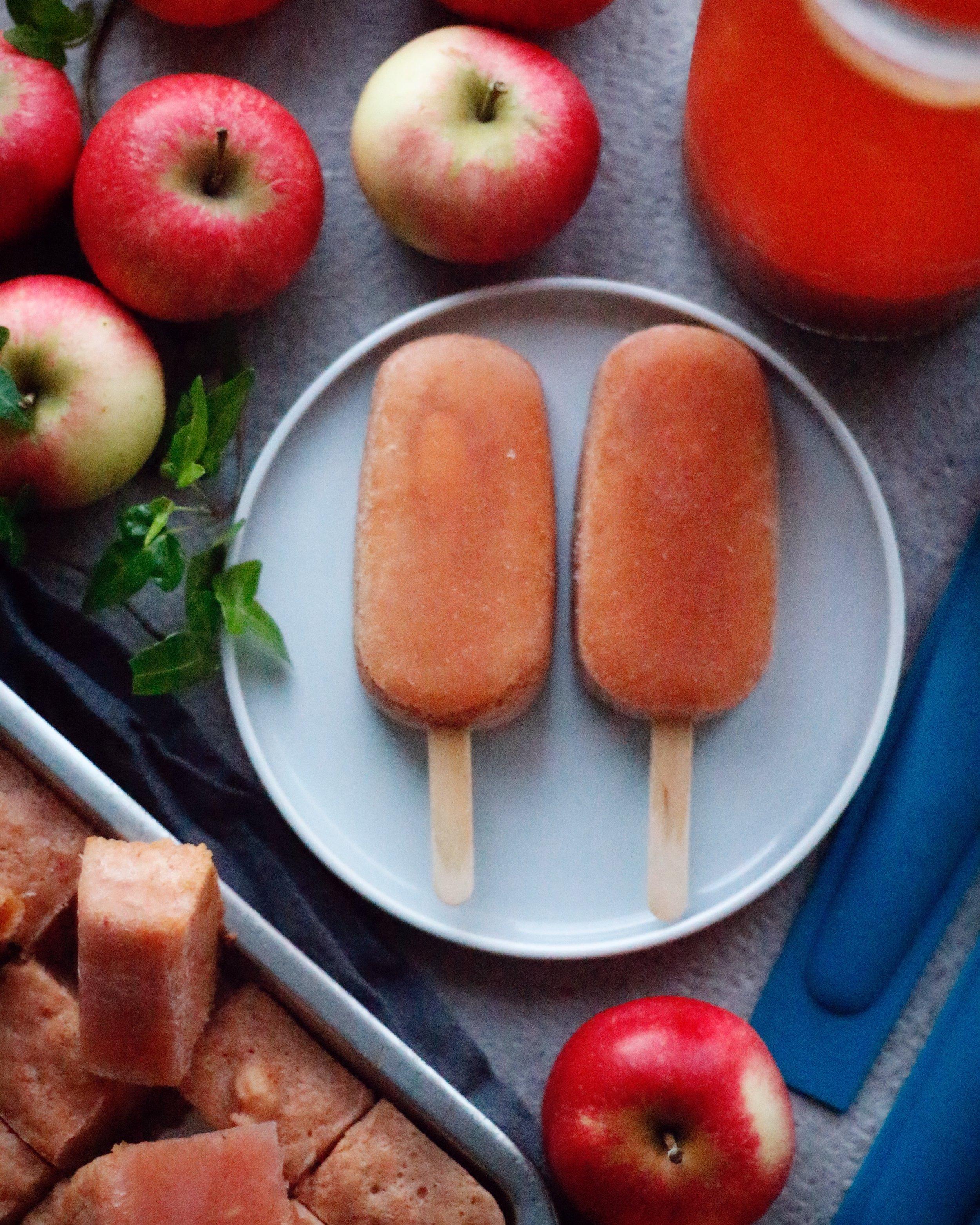 äppelglass från svenska äpplen