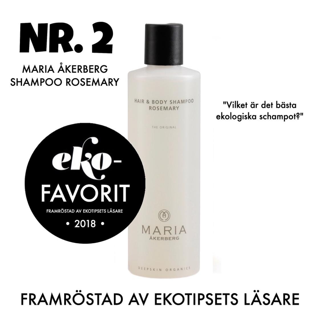 bästa ekologiska schampot Maria åkerberg