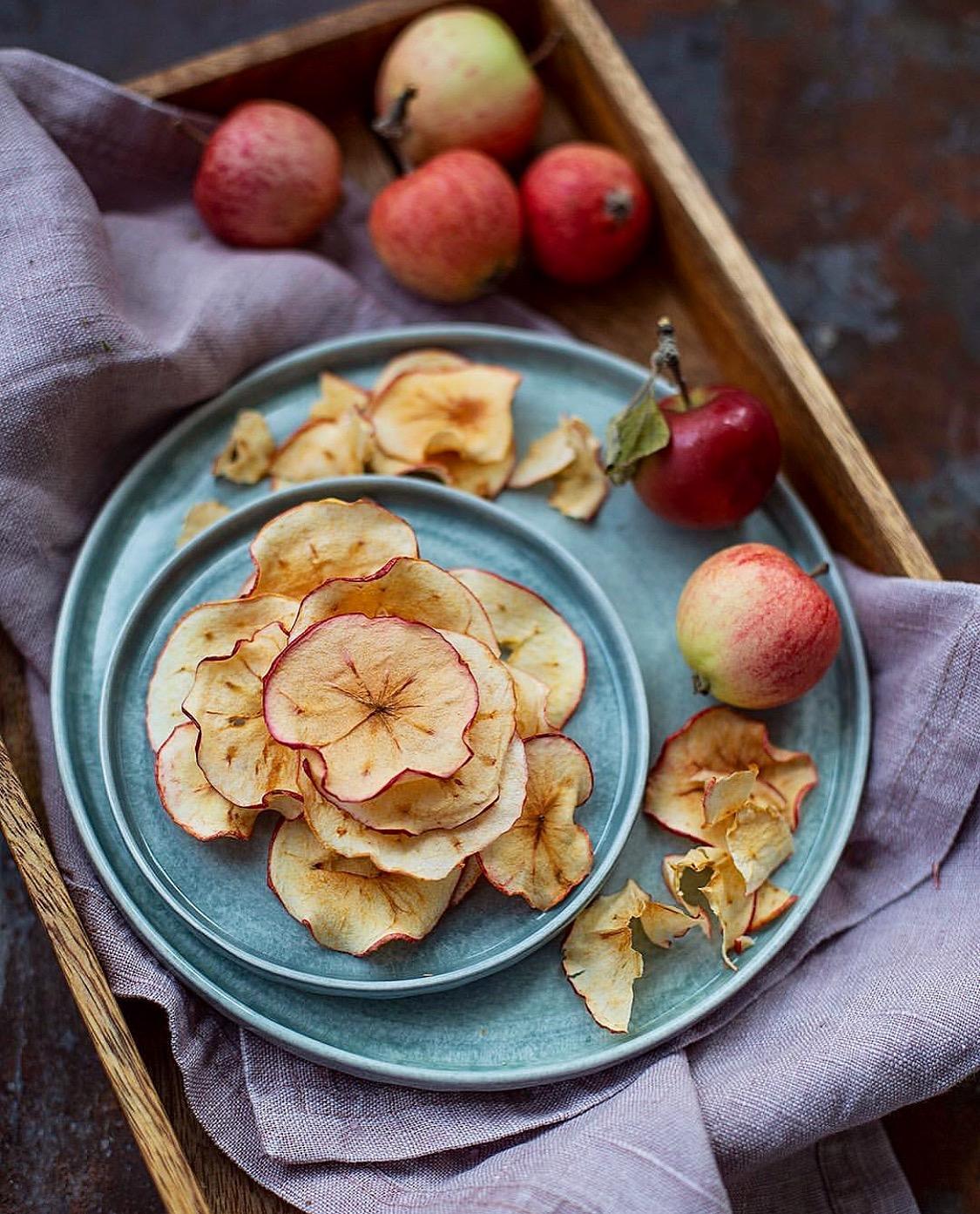 Torkade äpplen utan minsta svinn! Av  @ulricakrii