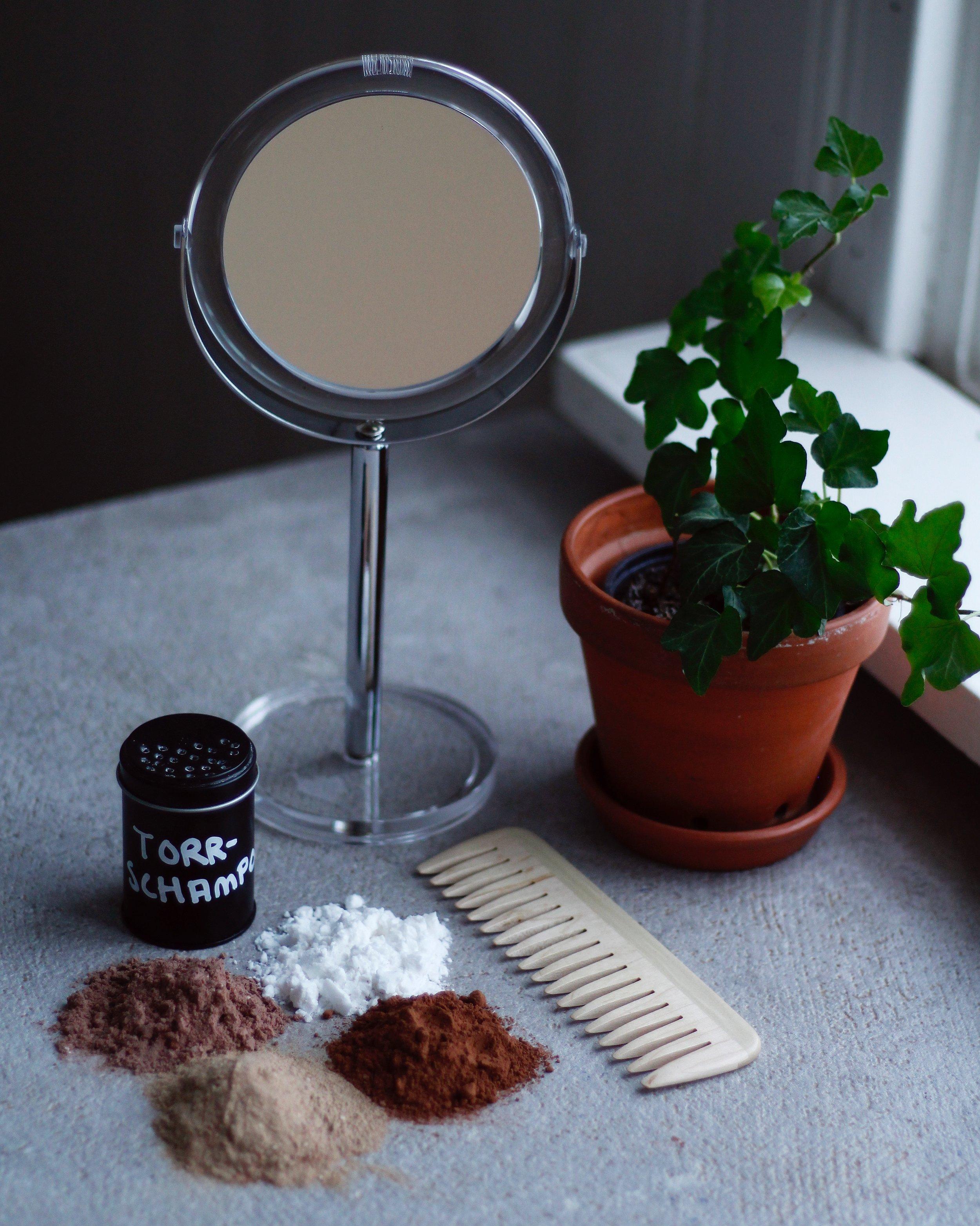 ekologiskt hemgjort torrschampo
