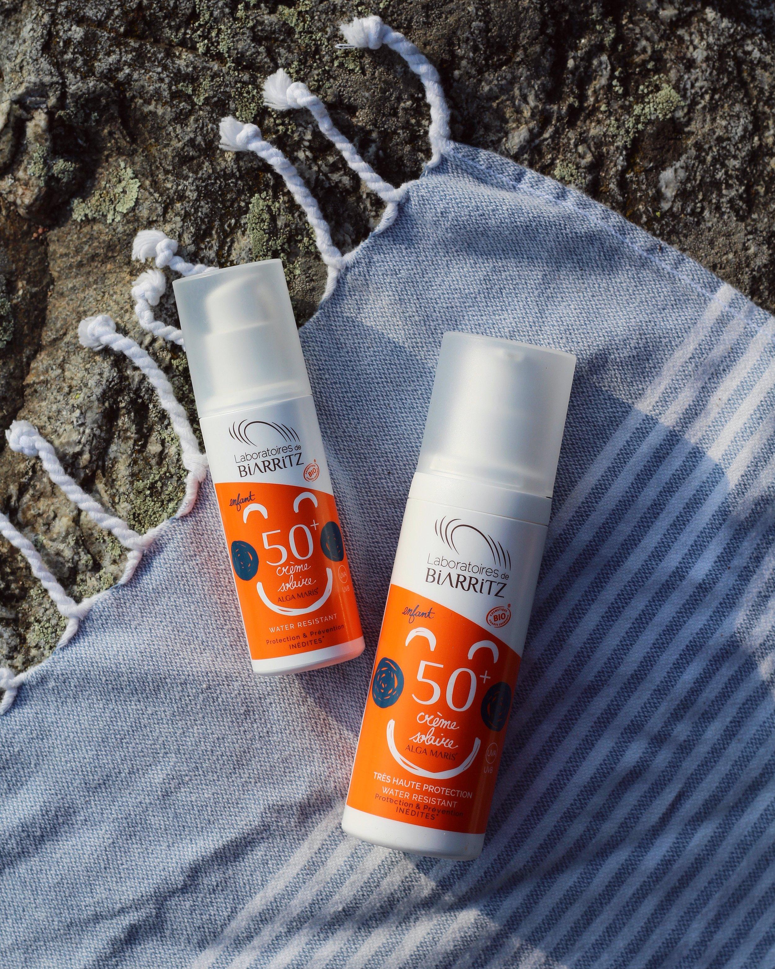ekologisk solkräm för barn
