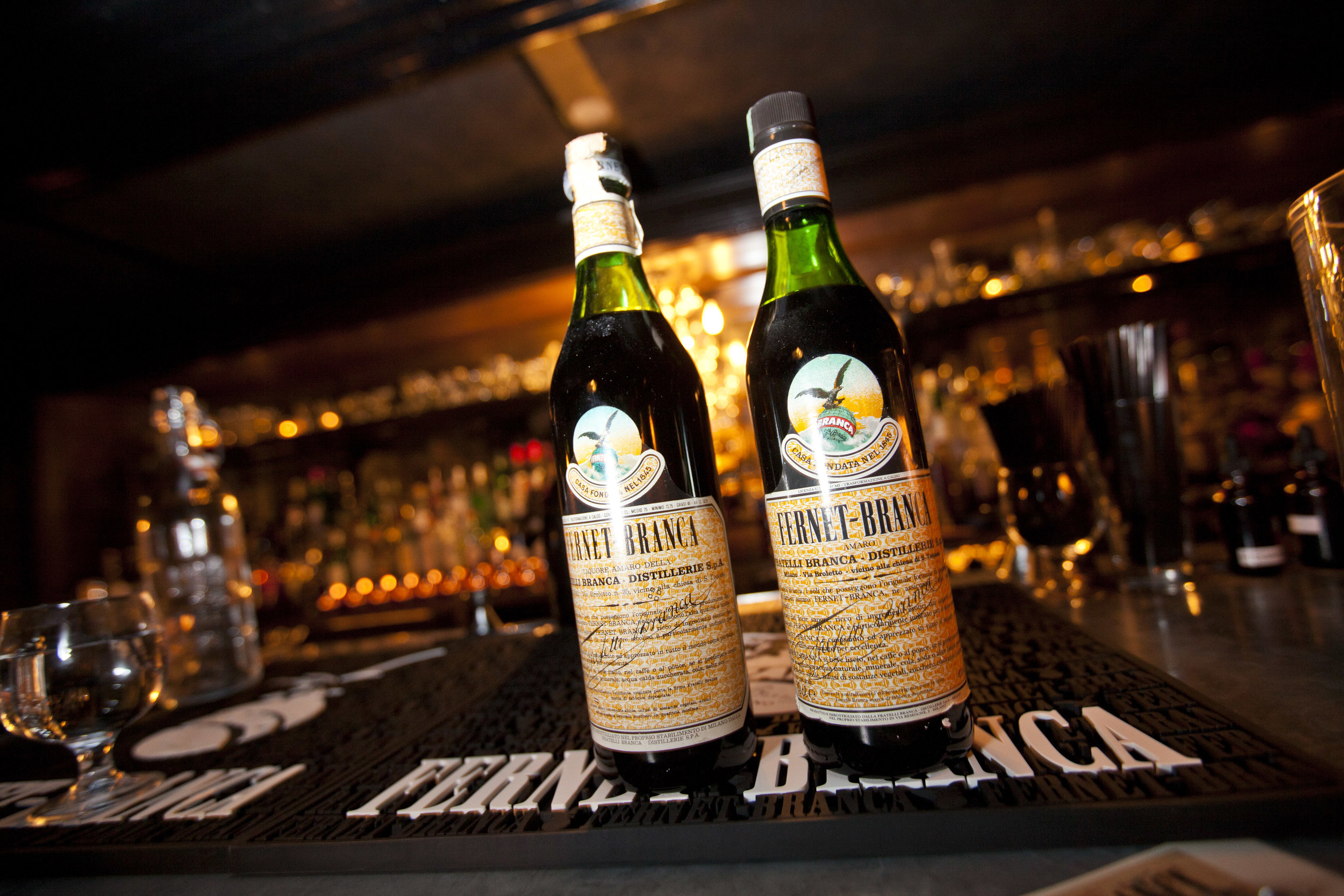 Fernet Branca's Count Eduardo Branca - On growing up Branca, Fernet fandom and scorpion shots.