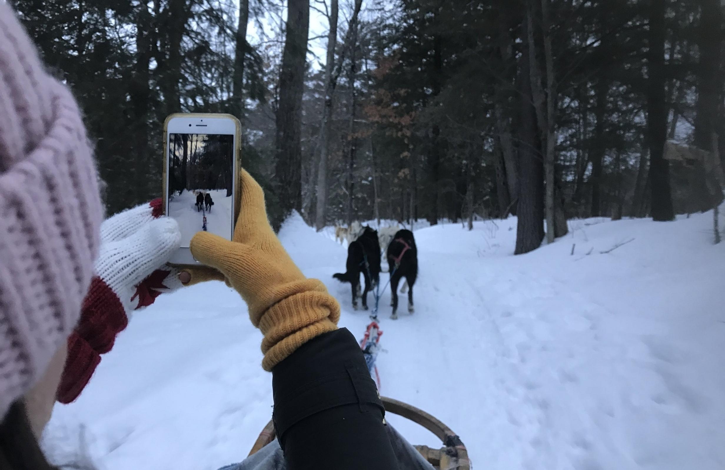 Canada: Winter in Montebello -
