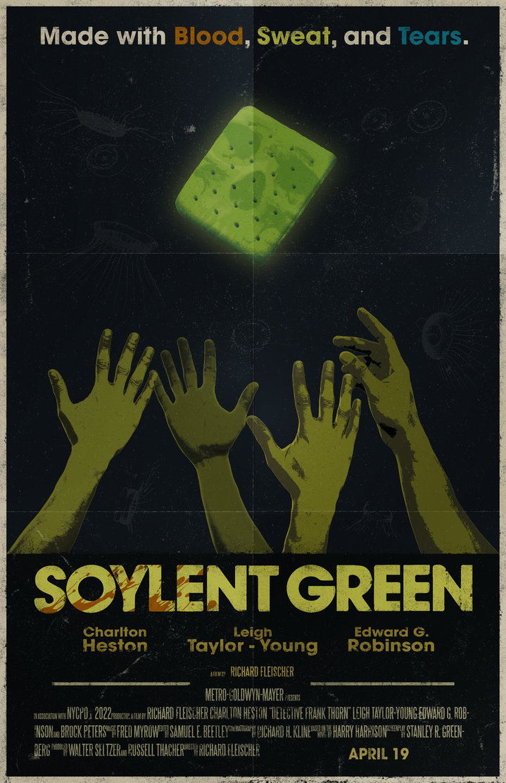 17 Food Sex Part 1 Soylent Green 1973 W Travis Dutton Alan Loo