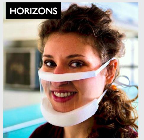 Johns Hopkins Medicine ClearMask transparent surgical mask.png