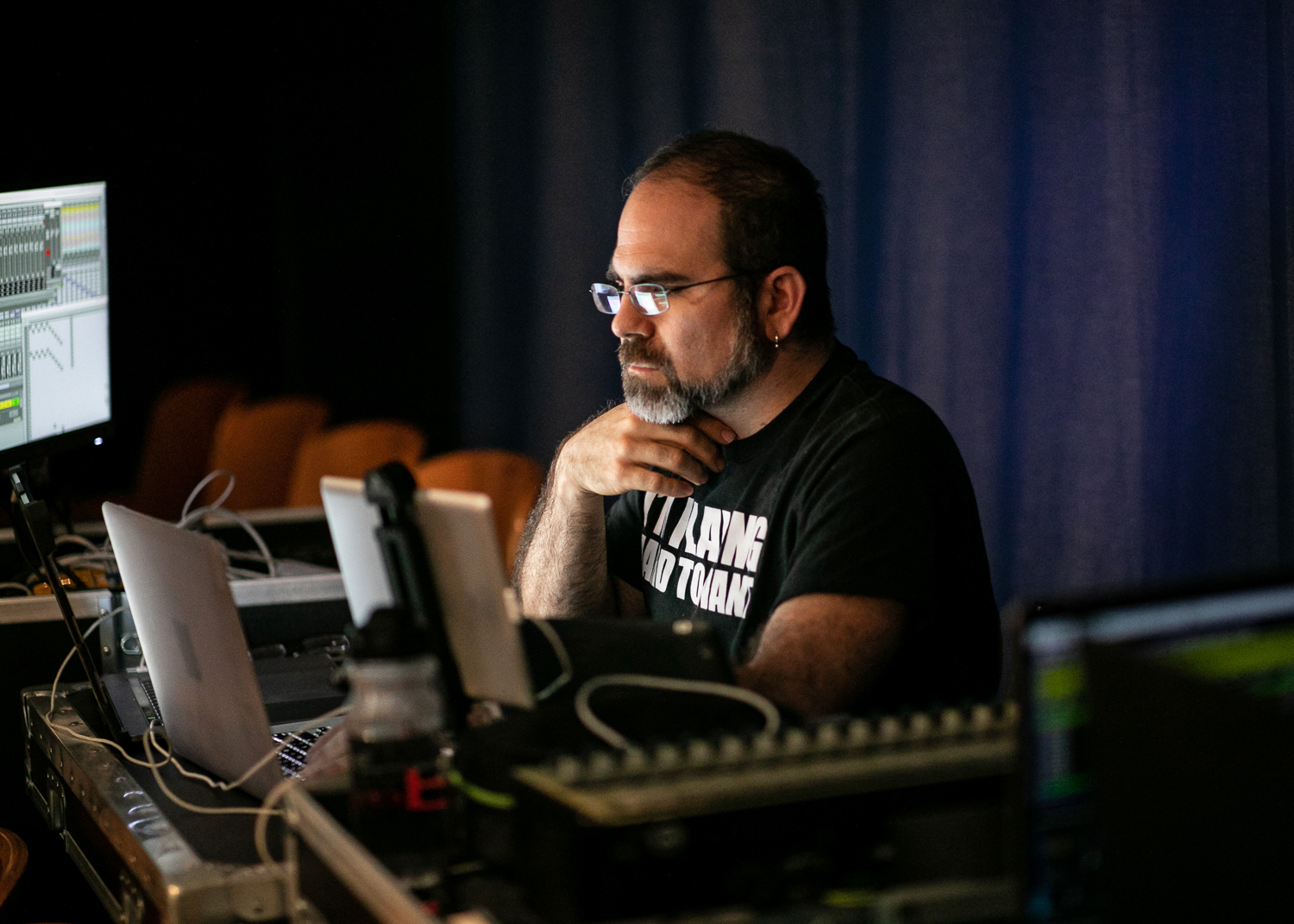 Panning, Playback and Cue programming - Photo by Taso Papadakis