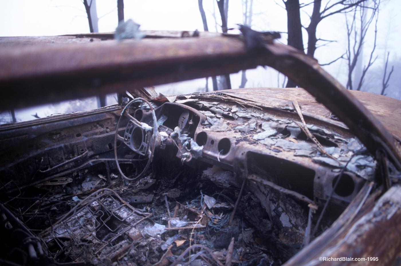 Car Destroyed