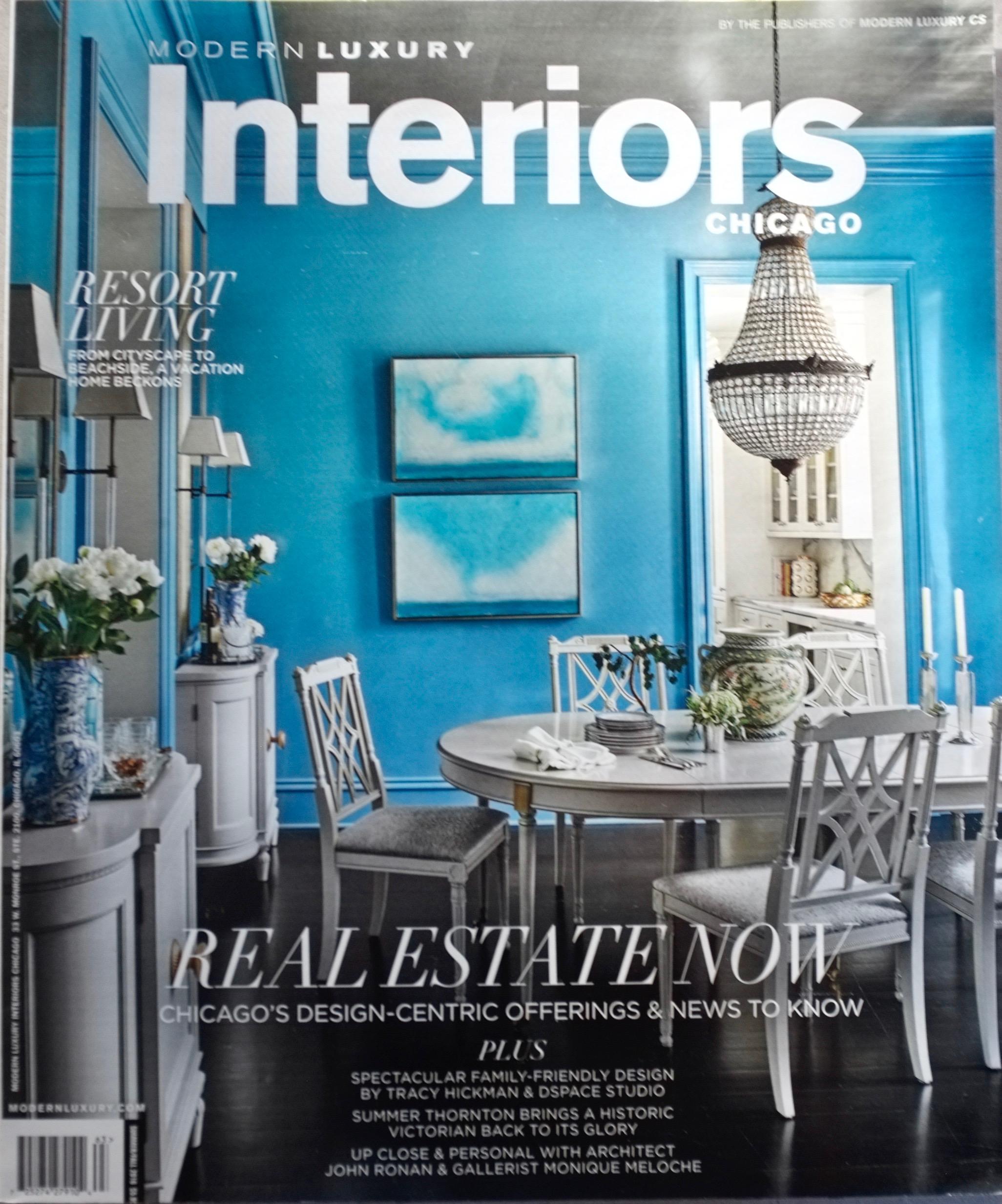 Modern Luxury Interiors - Summer/Fall 2016