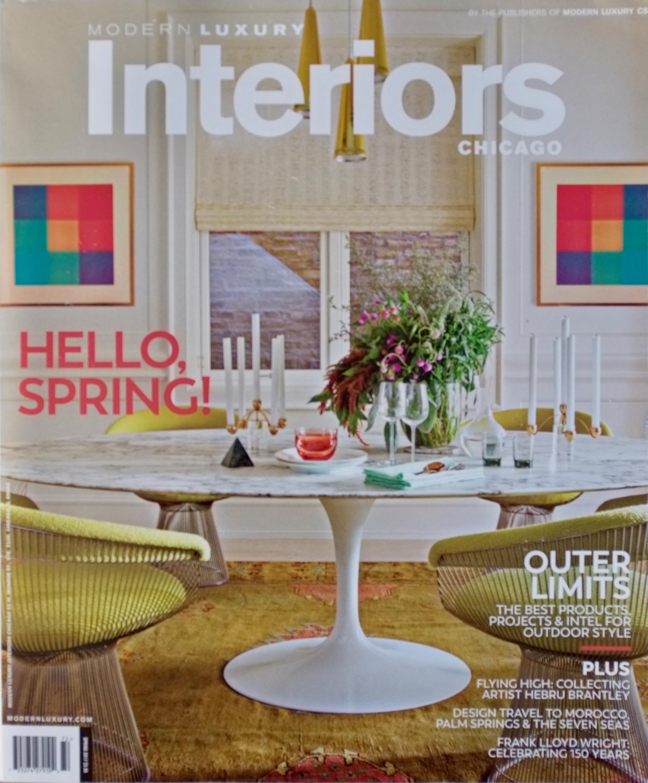 Modern Luxury Interiors - Spring 2017
