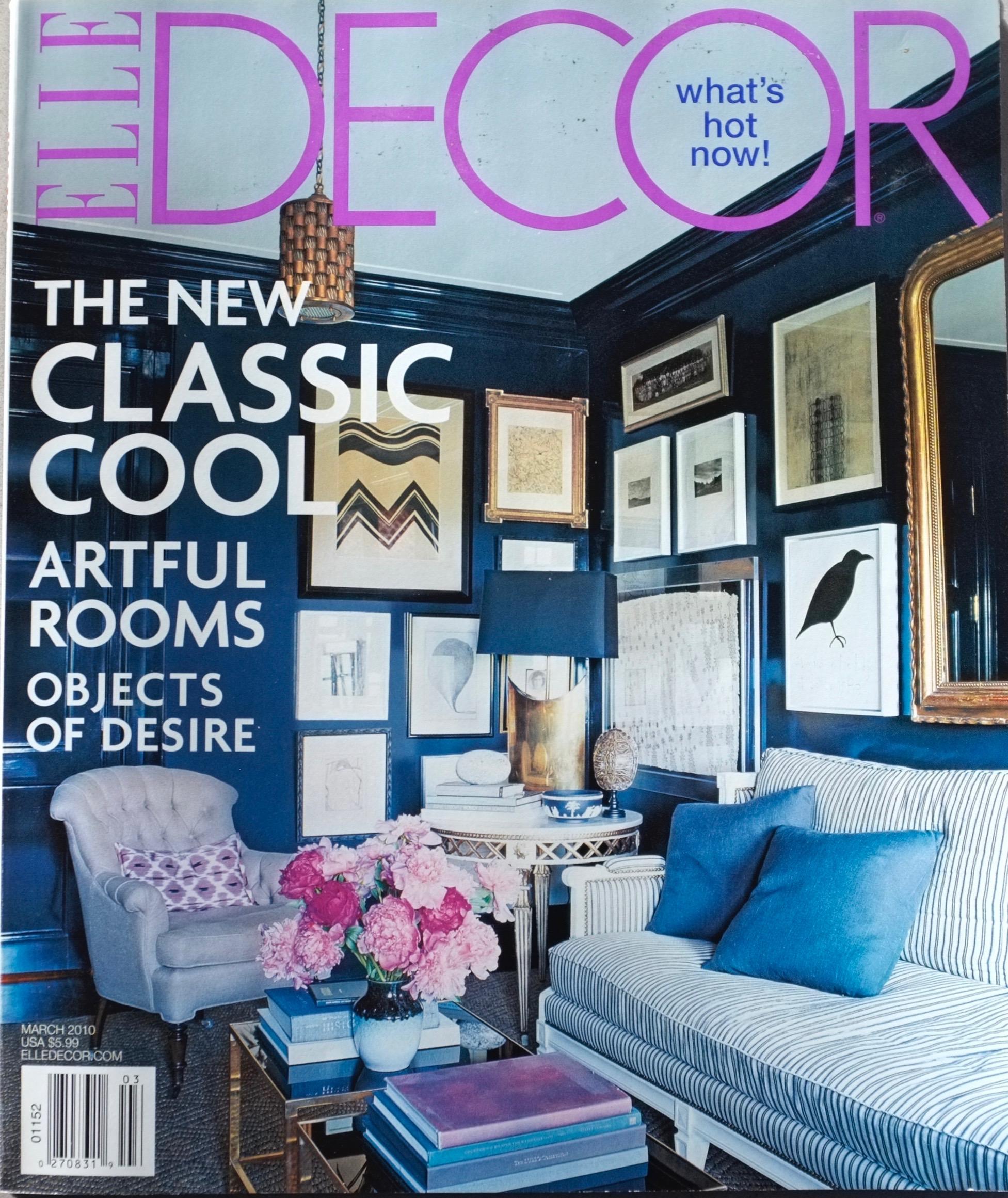 Elle Decor - March 2010