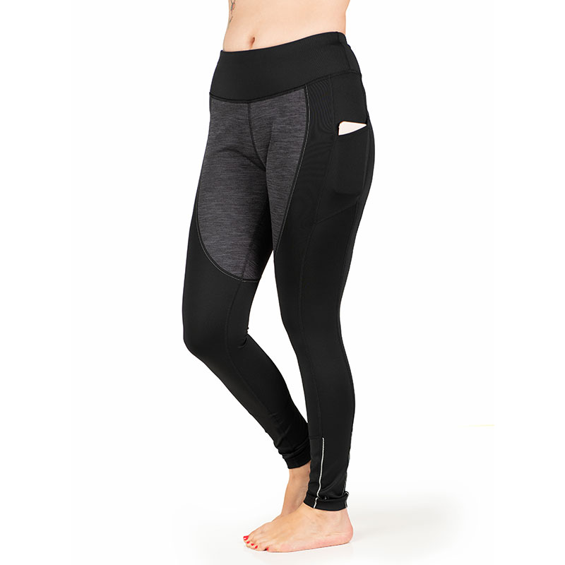 Toasty Tights from Skirt Sports feature wind-resistant fabric in the front, on the thigh area, in on the backside, to keep your butt from freezing. Plus, those pockets on each leg are perfect for carrying your phone and an ID. Use Code 1232Joyc to save fifteen percent on this or other Skirt Sports merch.