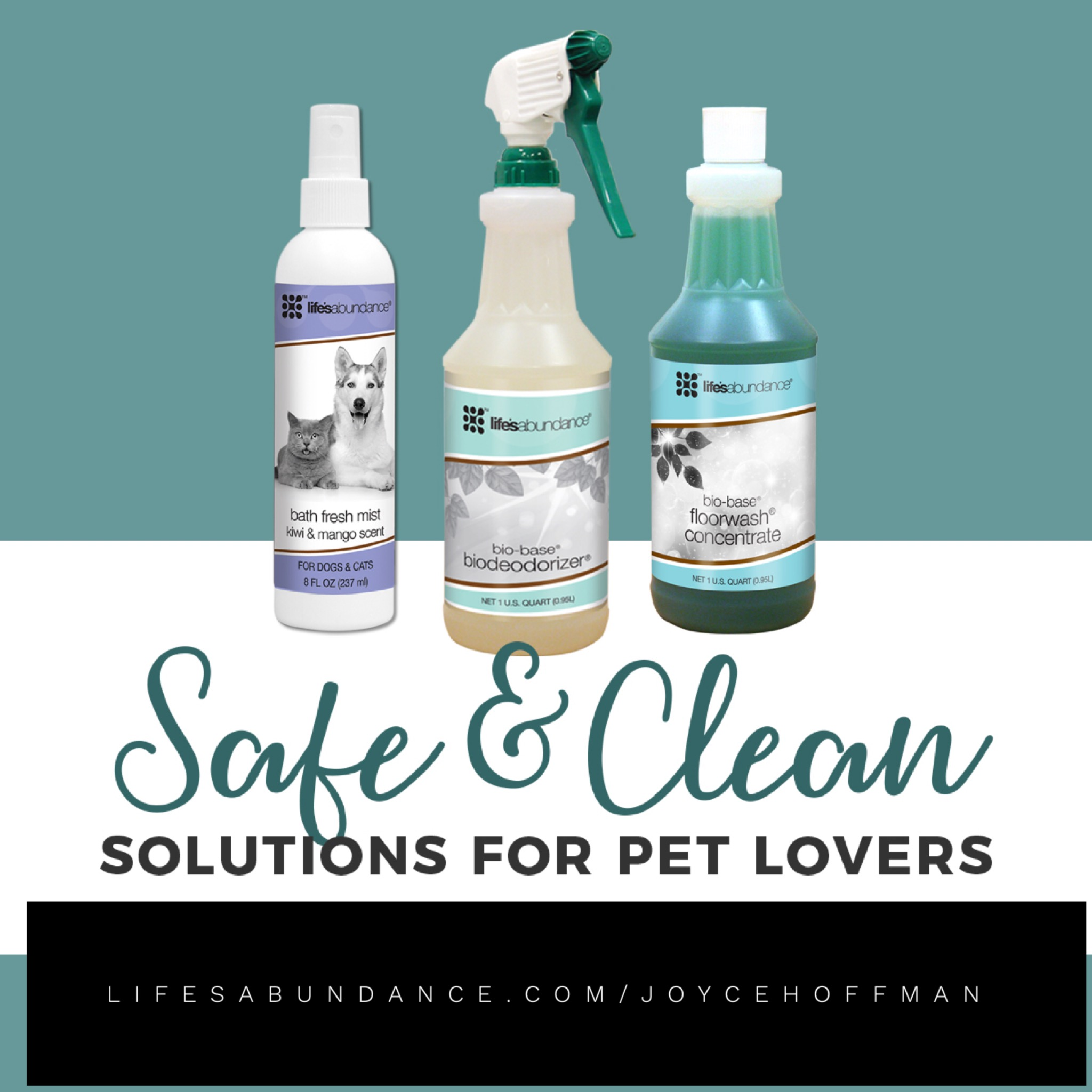 Switch to cleaning products that are a renewable resource and not a pollutant! - Floorwash Concentrate starts at under $14 and will yield up to 64 gallons of non-abrasive, non-corrosive cleaning power.BioDeodorizer starts at just over $10 and actually neutralizes odors instead of covering them up with chemicals and perfumes.