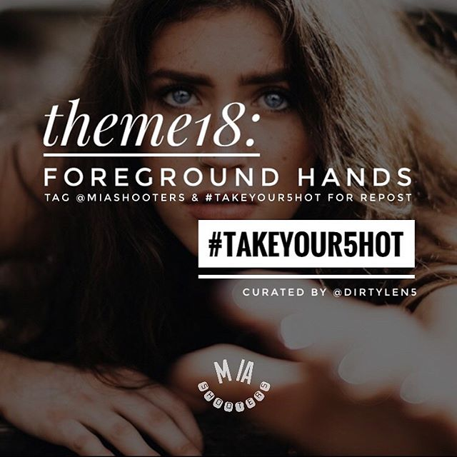 "🚨Get your shots in!🚨 Theme18 of #TakeYour5hot is ""Foreground Hands"" 📸 Use our tags to participate and get reposted! See info below 🔥 . A monthly theme will be chosen to challenge your eye and skill as a photographer! Be creative! Tag an existing shot or get out there and capture some shots with #ForegroundHands and tag @MIAshooters and #TakeYour5hot for a repost! 📸📸📸 . Background 📸: @_visualkbj_ ft. @keepchambers ⚡️ . Curated by @Dirtylen5 💯 . #dirtylen5 #miami #miamiphotographers #miamiphotographer #soflophotographer #miamiphotography #photography #photographychallenge #photochallenge #photocontest #portraitphotography #miamimodels #miamimodel #miamimuse #foreground #tampaphotographer #fortlauderdalephotographer #orlandophotographer #westpalmbeachphotographer #shooters #soflomuses #miashooters"
