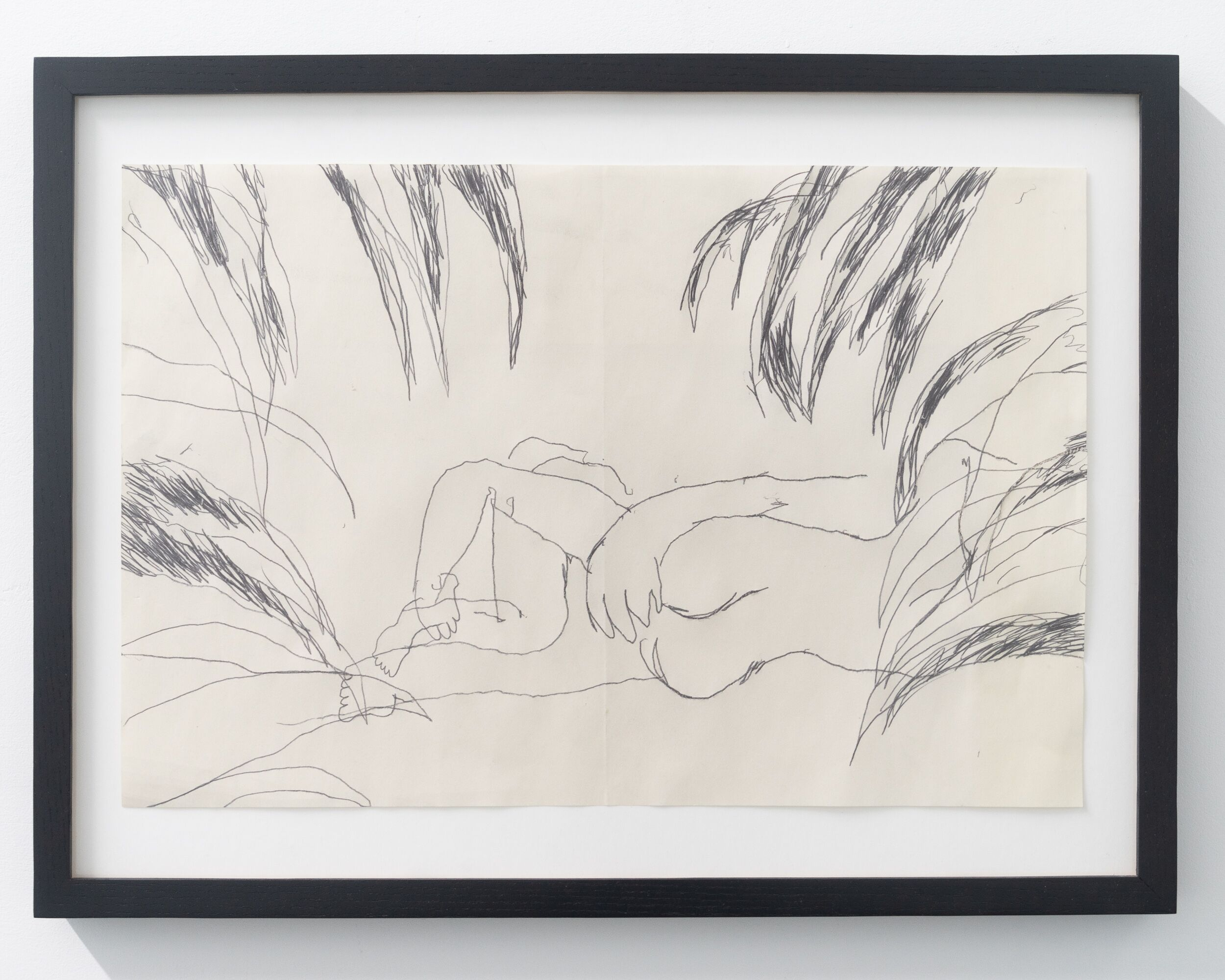 Emilie Gossiaux   In the Bushes , 2018 26 1/2 x 17 1/2 inches 67.3 x 44.5 cm