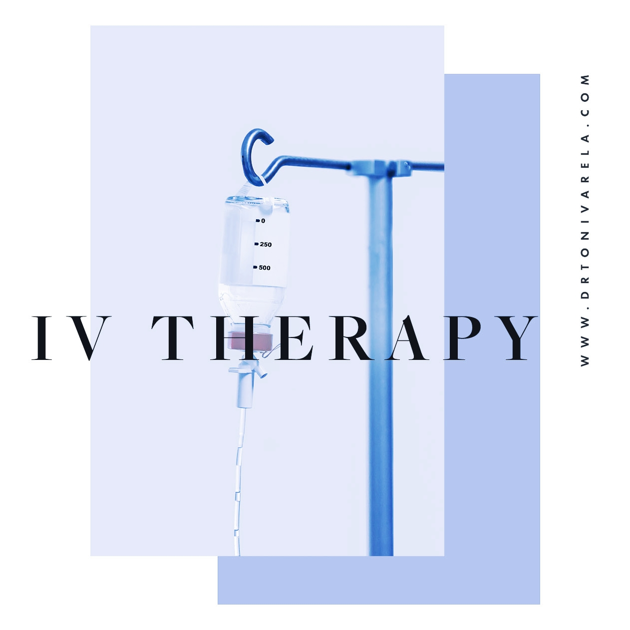 INTRAVENOUS THERAPY - Intravenous (IV) Therapies involve immediate delivery of fluids, medications, vitamins, minerals, homeopathy, ozone, and amino acids directly into the bloodstream, yielding 100% bio-available absorption. As an acute and preventative treatment, IV therapy has been successfully used for a wide array of health conditions, including dehydration, pain, cancer, autoimmune disease, asthma, migraines, leaky gut, colitis, anxiety, stress, fatigue, infections, toxicity, etc. By achieving nutritional blood concentrations difficult or even impossible to obtain orally, IV therapy can be effectively and efficiently life-changing, especially for the 75% of the US population that suffer from chronic disease. Dr. Varela individually examines every patient and administers every custom IV appropriate to one's needs. Aside from the conventional IV bag, IV Pushes are available for quick minute infusions & treatment add-ons for those