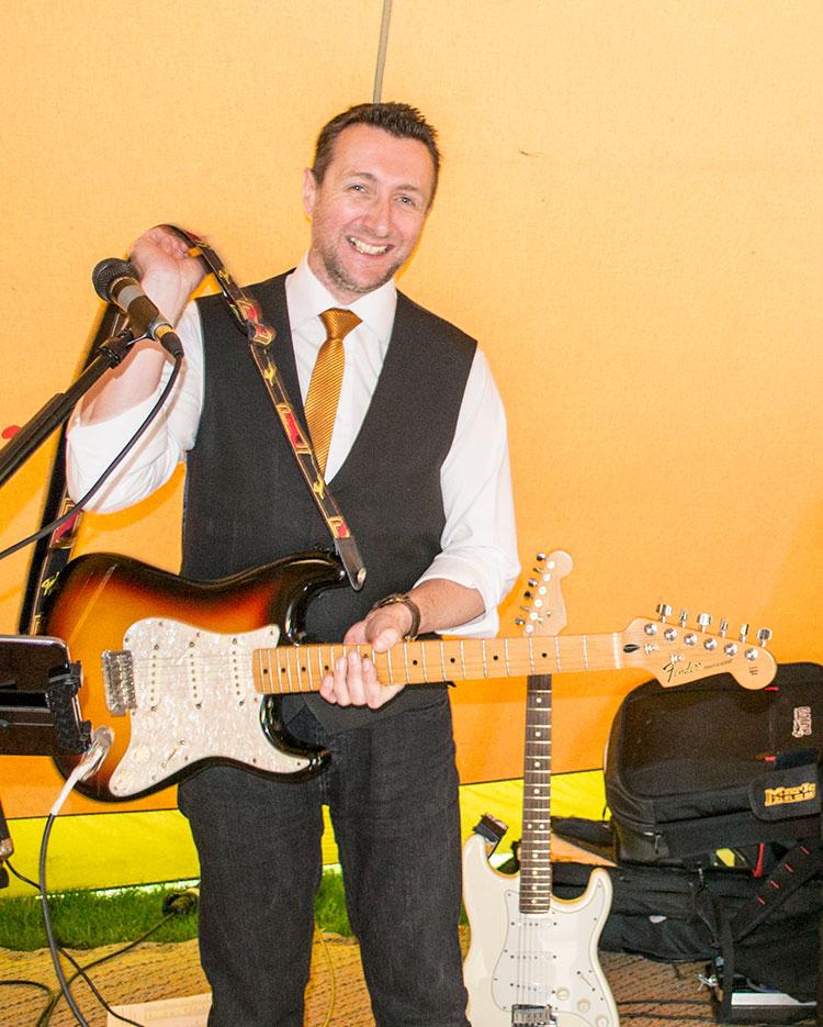 Robert, vocal & guitars