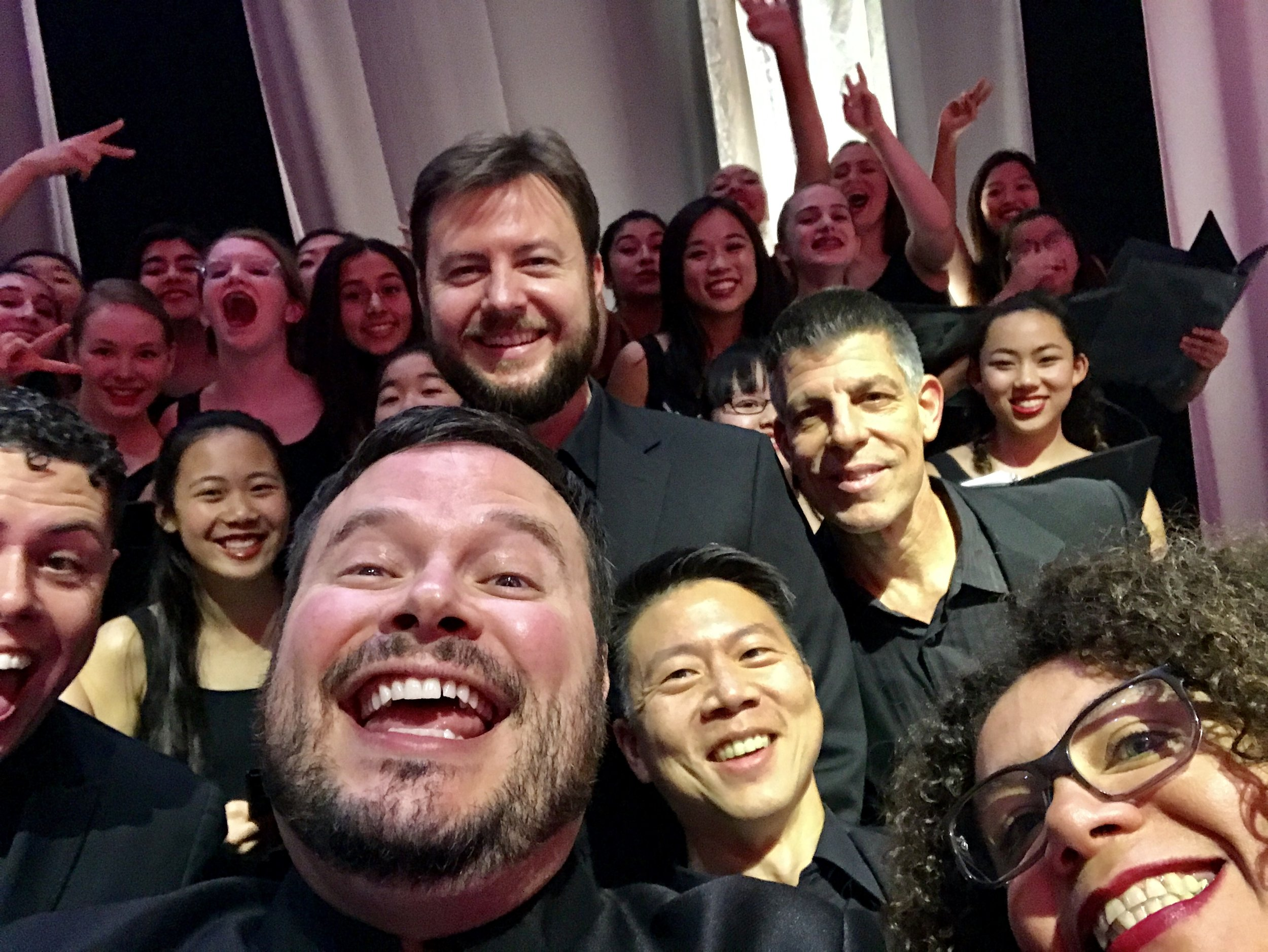 Clerestory, The San Francisco Girls Chorus, Valerie Sainte-Agathe, and Me