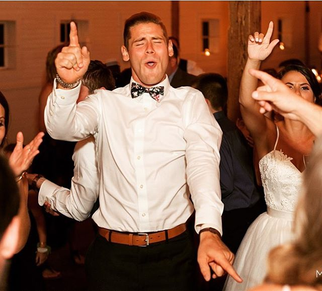 Warning: Hearing too much great music may do this to your face.... #wedding #realdjing