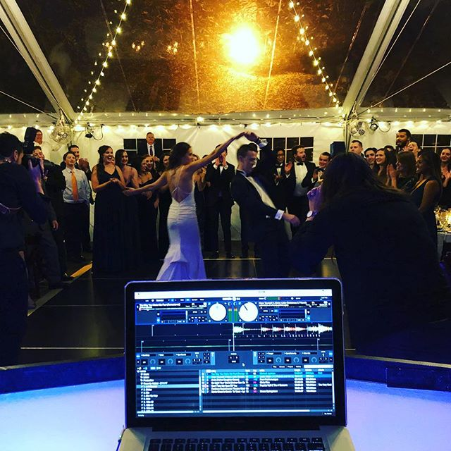 Top 5 crowd of all time! Weddings and couples like Amie and Johnny are why we love doing what we do. #weddings #dj #realdjing #nyc