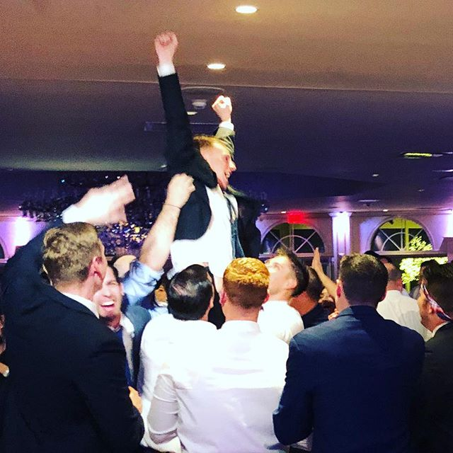 That moment you tell the whole squad you booked Classic Events for your wedding #dj #realdjs #nyc #newyorkwedding #saturdaynight