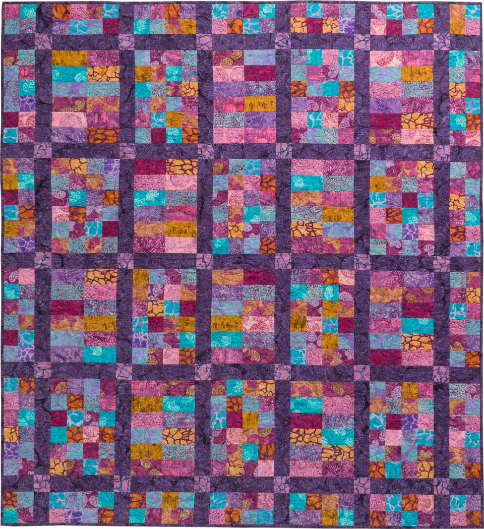 Taste Of September Quilt Pattern Pieced GR