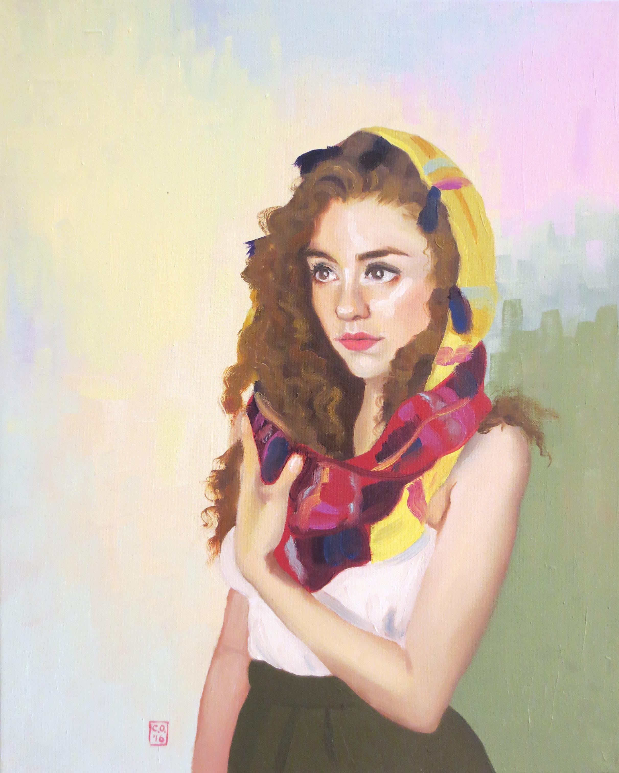 """Self Portrait"", Oil on Canvas, 2017"