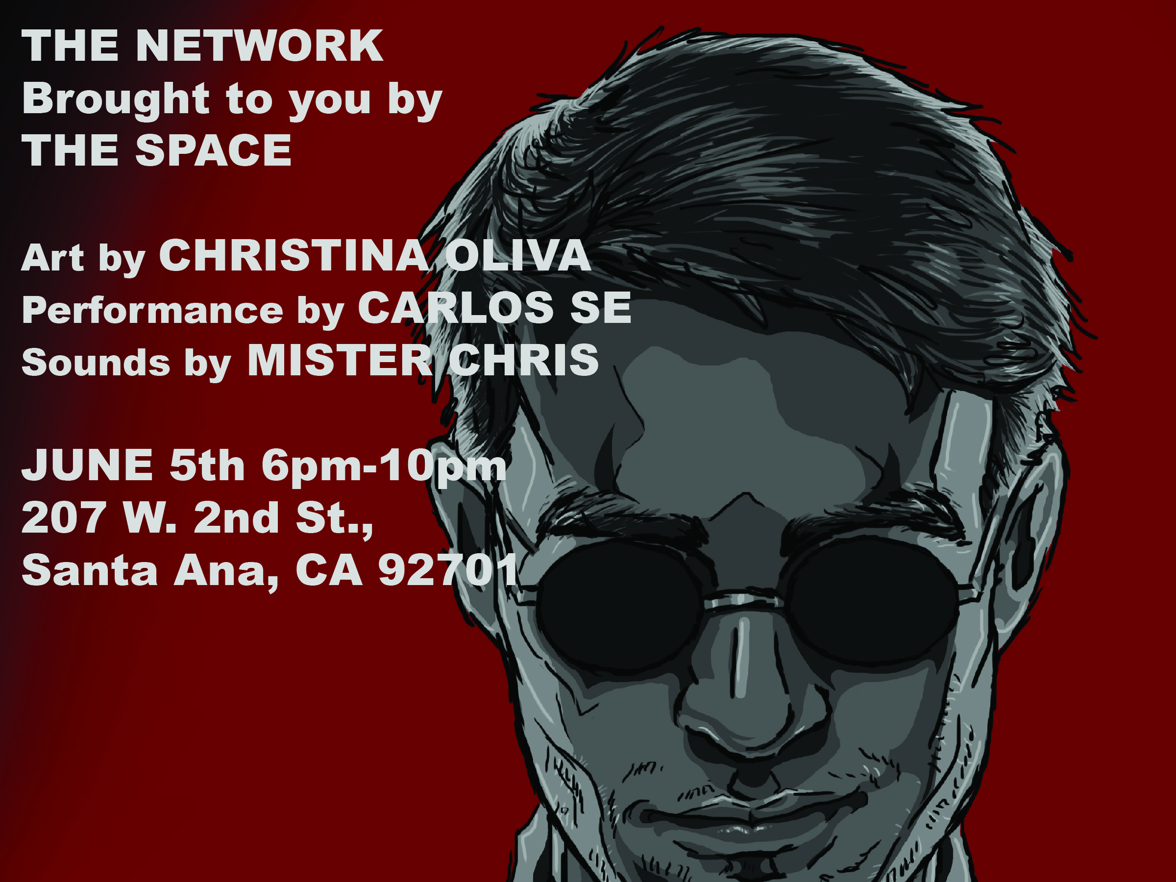 Monday June 5th 2017, 6pm to 10pm, performances food and drinks, meet the artist and get signed prints.