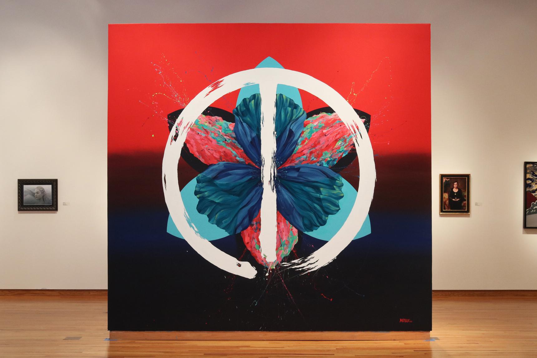 'DisUNITY'  Installation 2017  Side A - Fort Wayne Museum of Art