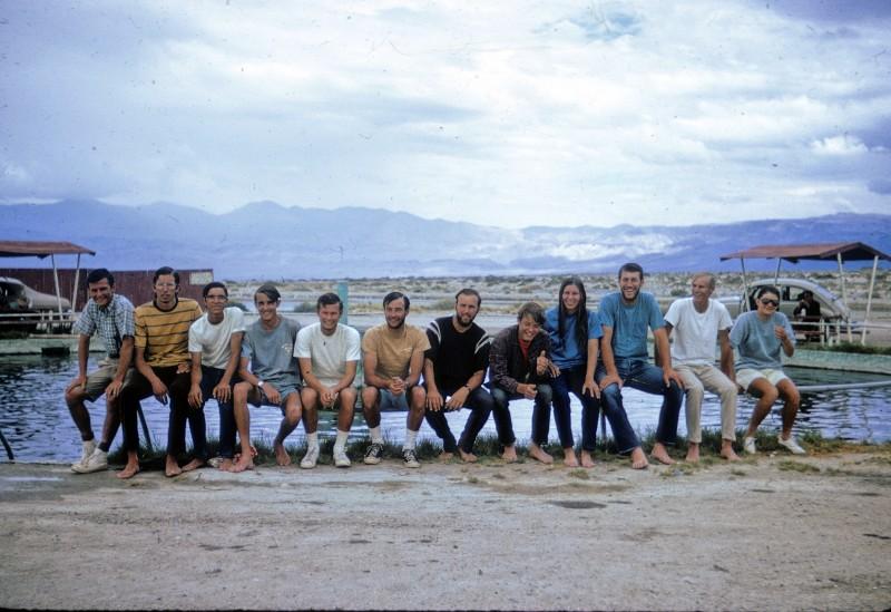 Above:the gang at Dirty Sox HS: my brother Mike, Wes, Conrad, Ken, me (Bob Shaver), Chris, John, Kevin, Nancy, Steve S. Steve L, Madylin.