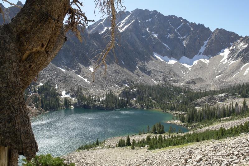 Above, Quiet Lake.
