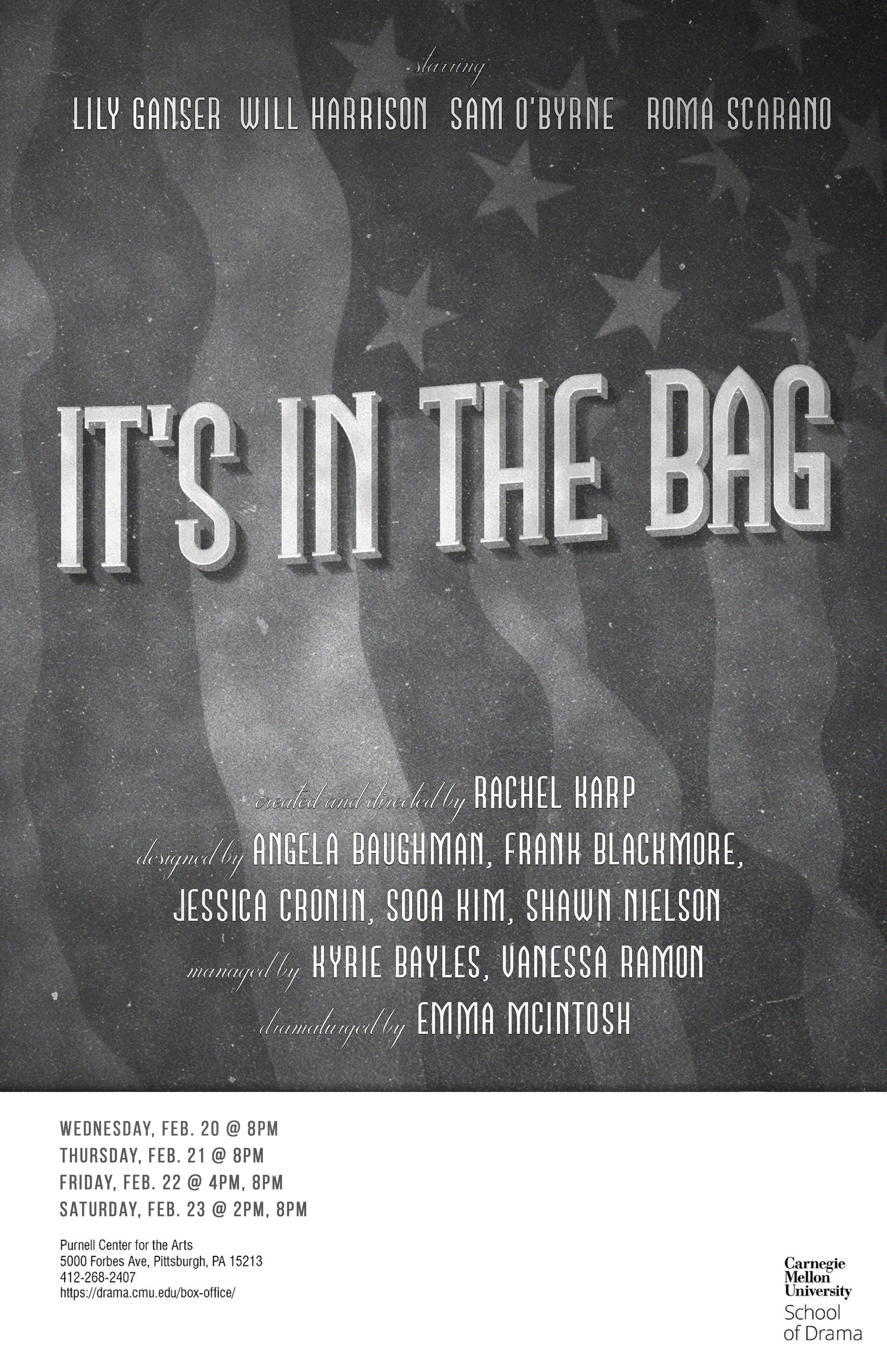 It's in the Bag - created and directed by Rachel Karpfrom George Burns and Gracie Allen's