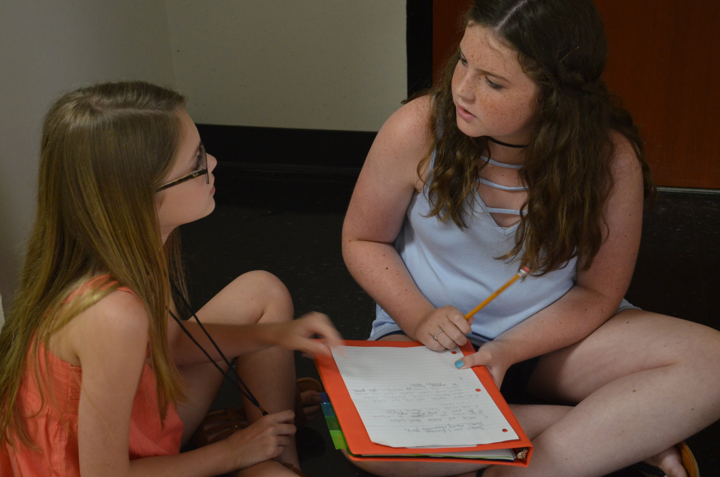 Campers chose to be part of several different genres ranging from Classical to Hip Hop.