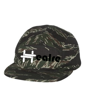 Graphic and textile design work for the Healre® headgear collection.